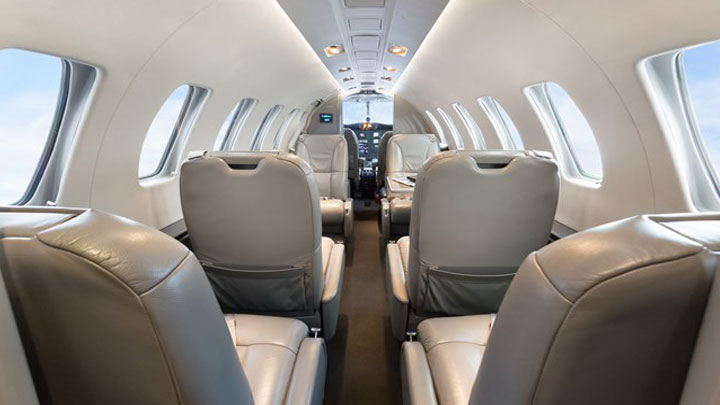 Citation CJ2 Jet Interior