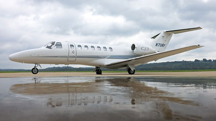 Citation CJ3 Jet Exterior