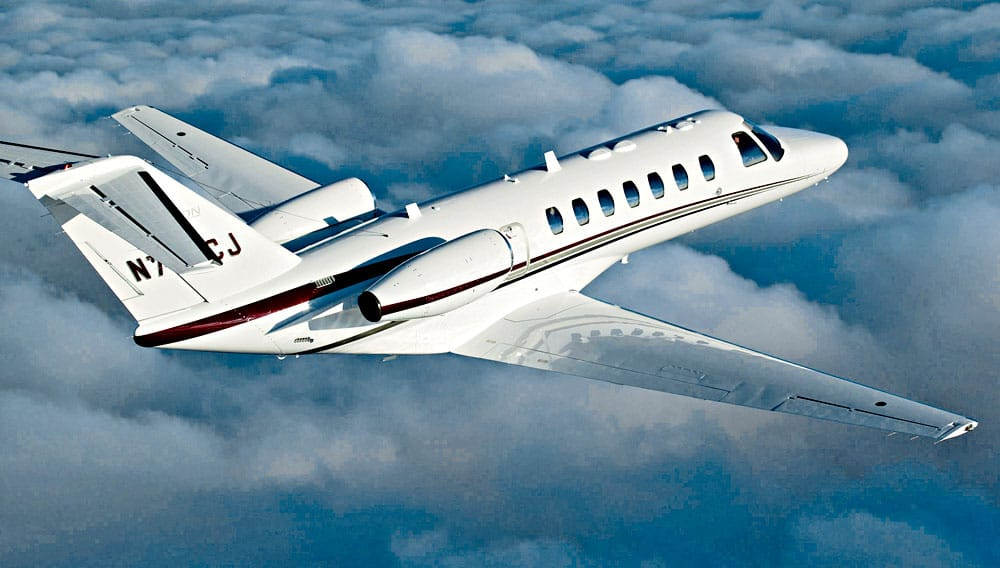 Charter a Citation CJ3 Jet from JetOptions