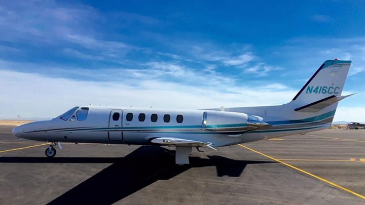 Citation II Jet Exterior