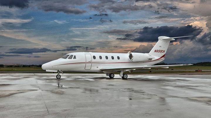 Citation III Jet Exterior