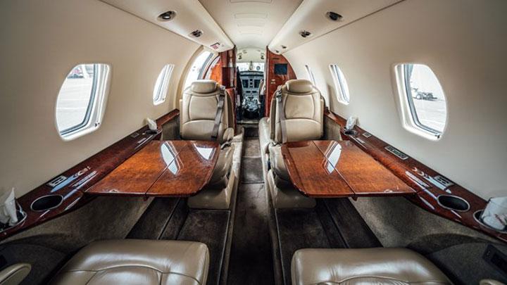 Citation XLS Jet Interior