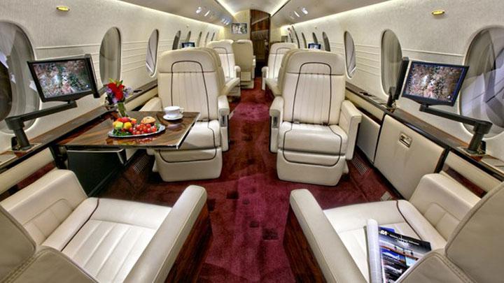 Dornier 328J Jet Interior