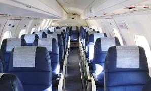 EMB 120 Jet Interior