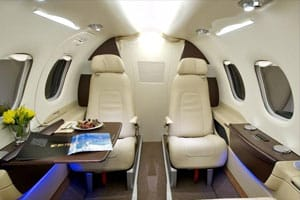 Charter a Phenom 100 Jet from JetOptions