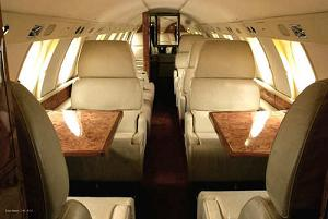 Charter a Falcon 20 Jet from JetOptions