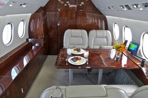 Charter a Falcon 2000 Jet from JetOptions