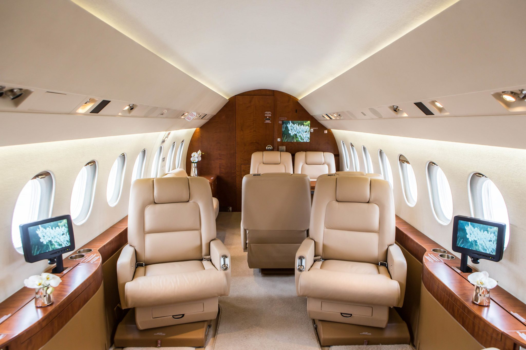 Charter a Falcon 2000EX EASy Jet from JetOptions