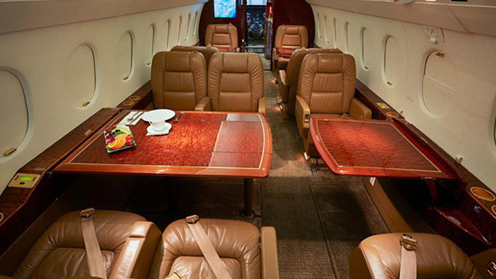 Falcon 2000EX EASy Jet Interior