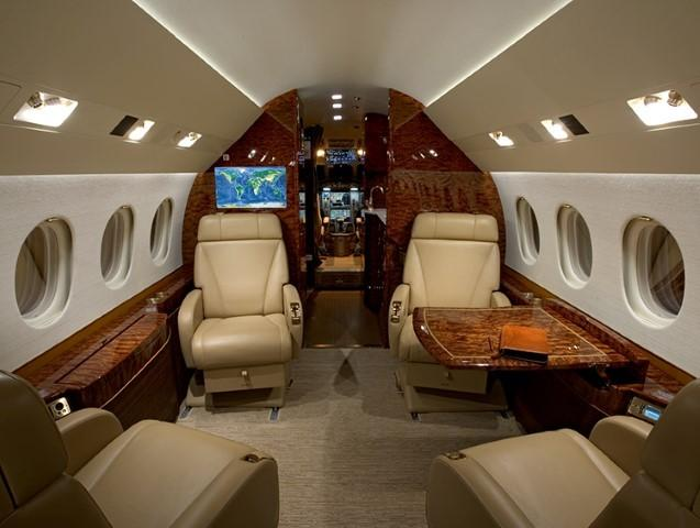 Charter a Falcon 2000LX Jet from JetOptions