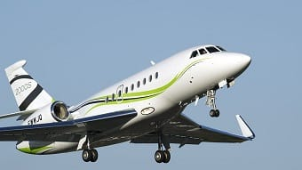 Charter a Falcon 2000S Jet from JetOptions