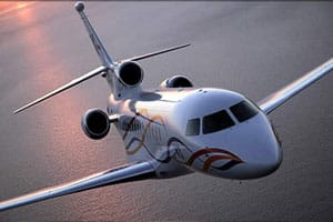 Charter a Falcon 7X Jet from JetOptions