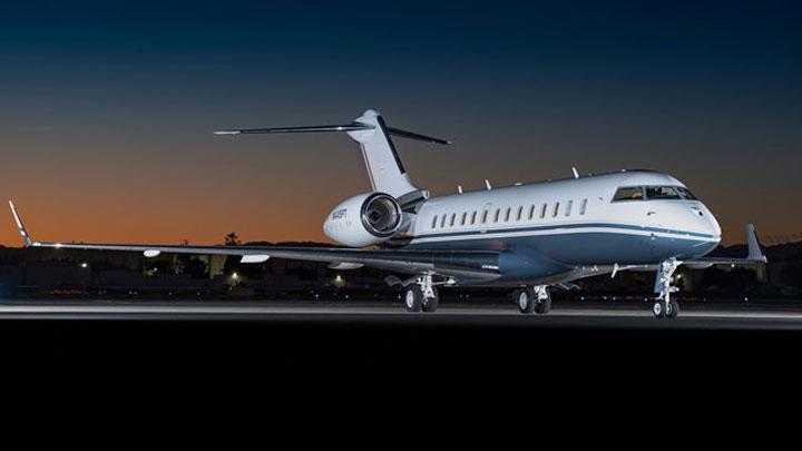 Global 5000 Jet Exterior
