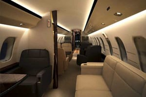 Charter a Global Express XRS Jet from JetOptions