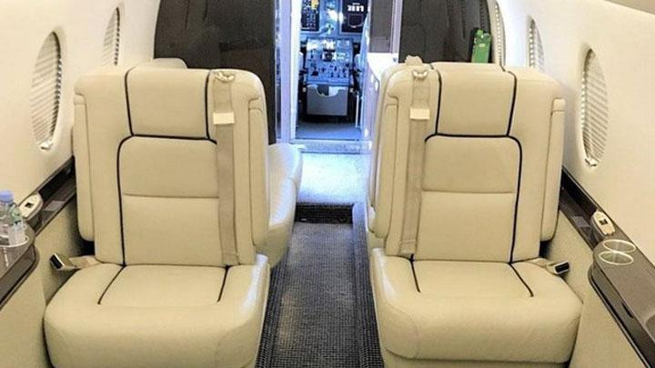 Gulfstream G150 Jet Interior