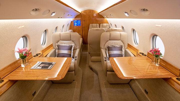 Gulfstream G200 Jet Interior