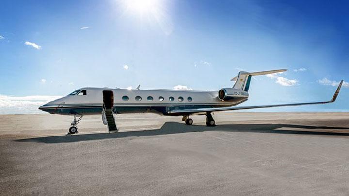 Gulfstream G550 Jet Exterior