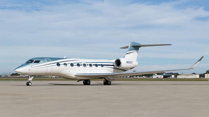 Gulfstream G650 Jet Exterior