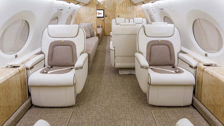 Gulfstream G650 Jet Interior