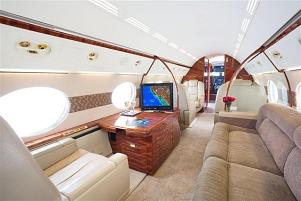 Charter a Gulfstream V Jet from JetOptions