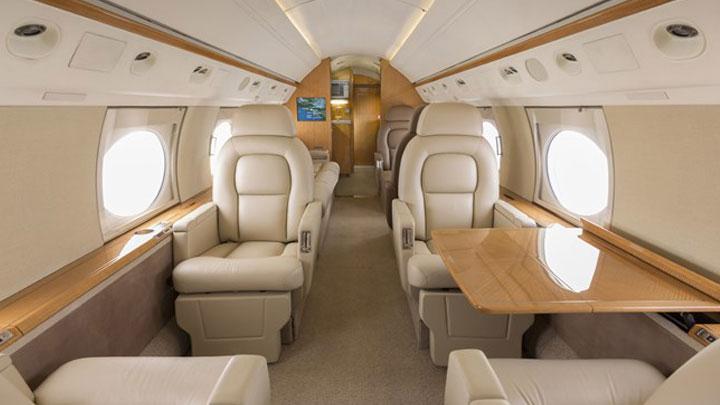 Gulfstream IV SP Jet Interior