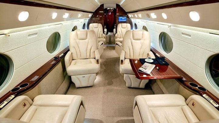 Gulfstream V Jet Interior