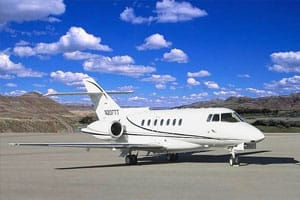 Charter a Hawker 1000 Jet from JetOptions