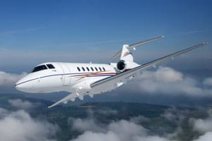 Charter a Hawker 4000 Jet from JetOptions