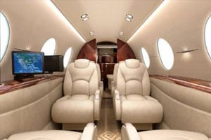 Charter a Hawker 400XP Jet from JetOptions