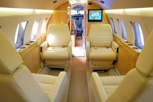 Charter a Hawker 800 Jet from JetOptions