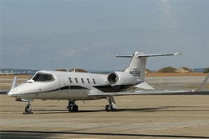 Charter a Learjet 31A Jet from JetOptions