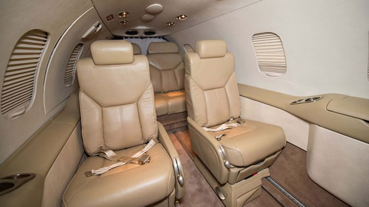Learjet 31A Jet Interior
