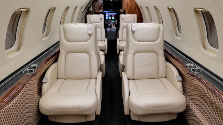 Learjet 45 Jet Interior