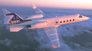 Charter a Learjet 55 Jet from JetOptions