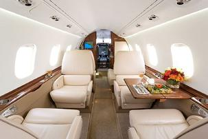 Charter a Learjet 60 Jet from JetOptions