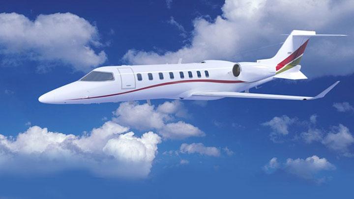 Learjet 75 Jet Exterior