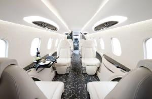 Charter a Learjet 75 Jet from JetOptions