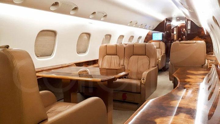 Legacy 600 Jet Interior