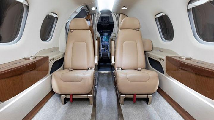 Phenom 100 Jet Interior