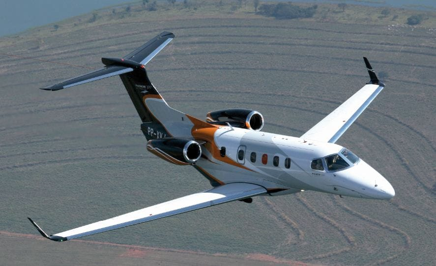 Charter a Phenom 300 Jet from JetOptions