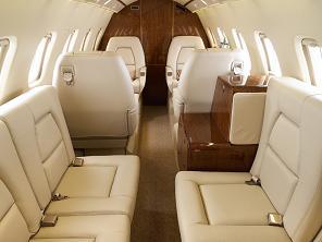 Piaggio Avanti P180 Jet Interior