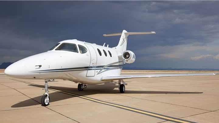 Premier 1A Jet Exterior