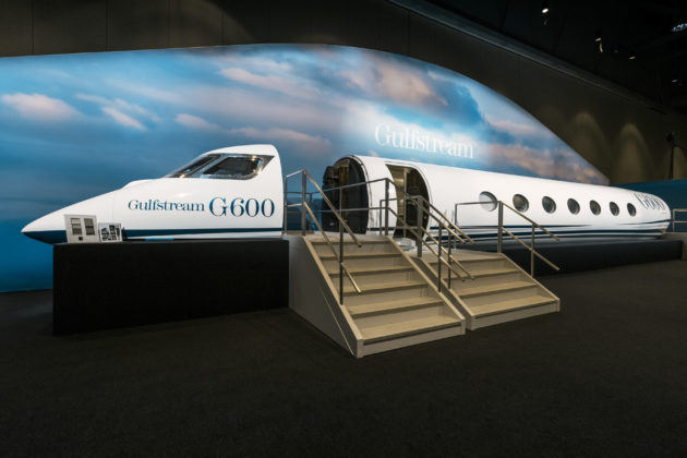 Gulfstream G600 mock up