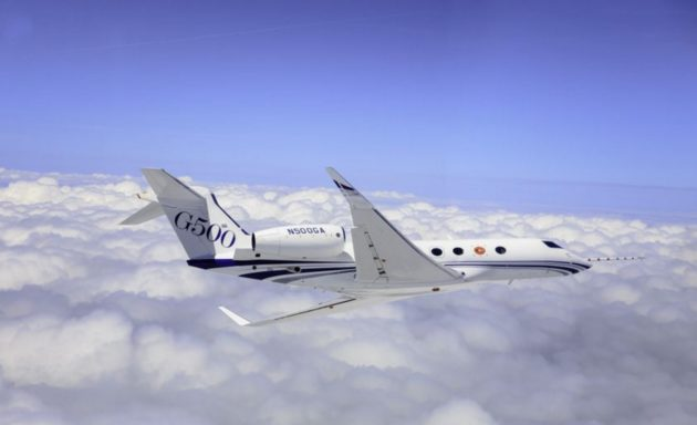 Gulfstream G500 flight