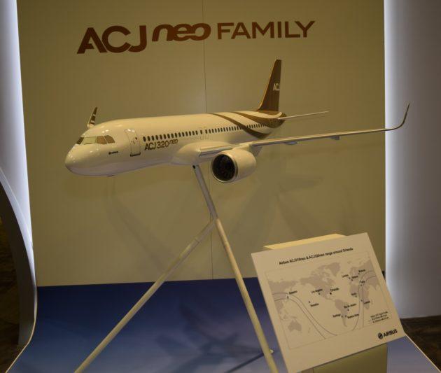 ACJ 320 Neo at NBAA 2016
