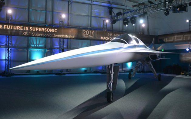 Boom XB-1 rendering