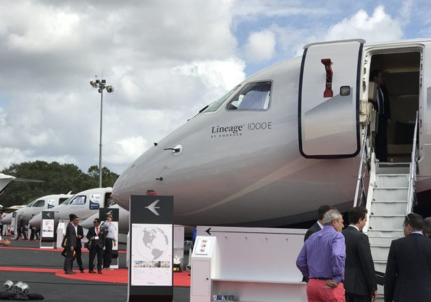 Embraer Executive jets at NBAA 2016