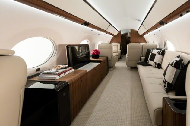 Four living area G650ER on display at MEBAA 2016