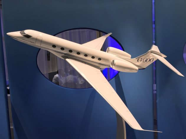 Gulfstream G600 model and NBAA 2016