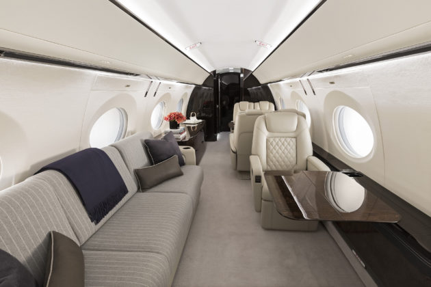 Gulfstream G500 all new interior